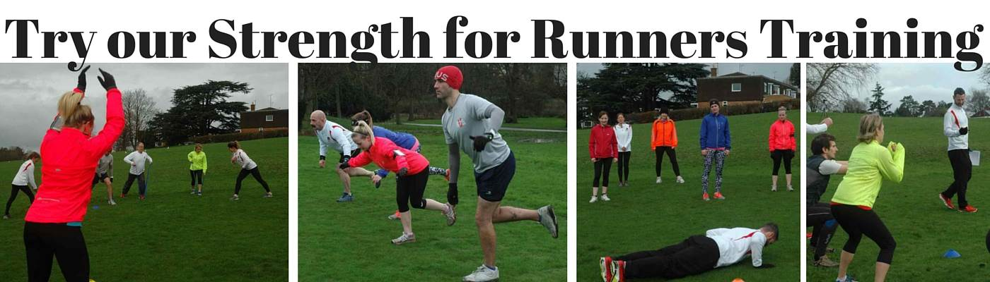 Try our Strength for Runners Training