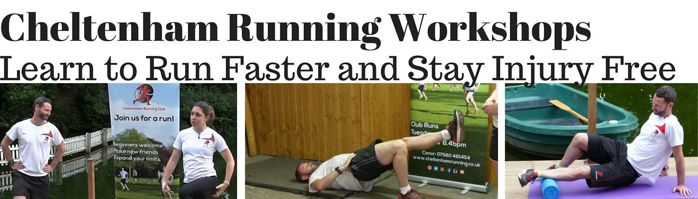 Learn to Run Faster without Injury Workshops in Cheltenham