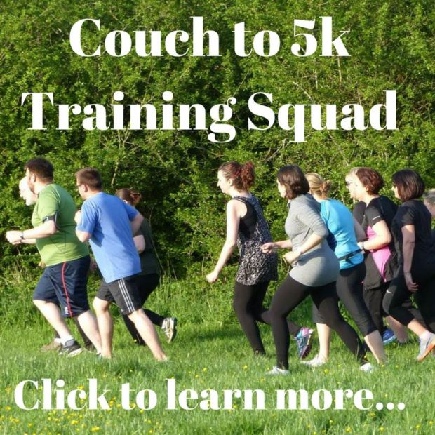 Couch to 5k Training Squad Cheltenham