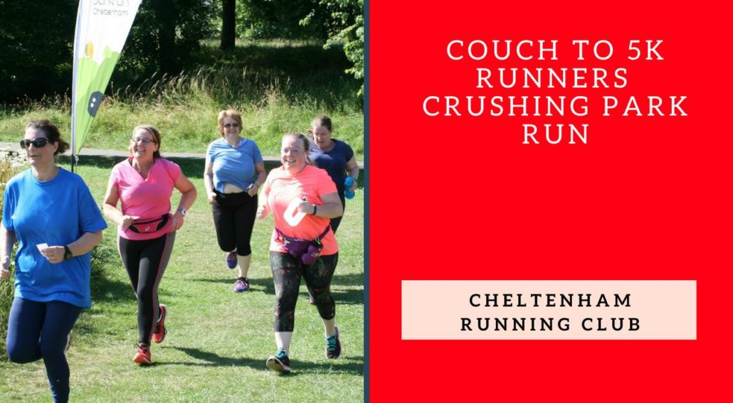 Couch to 5k Runners Crushing Park Run