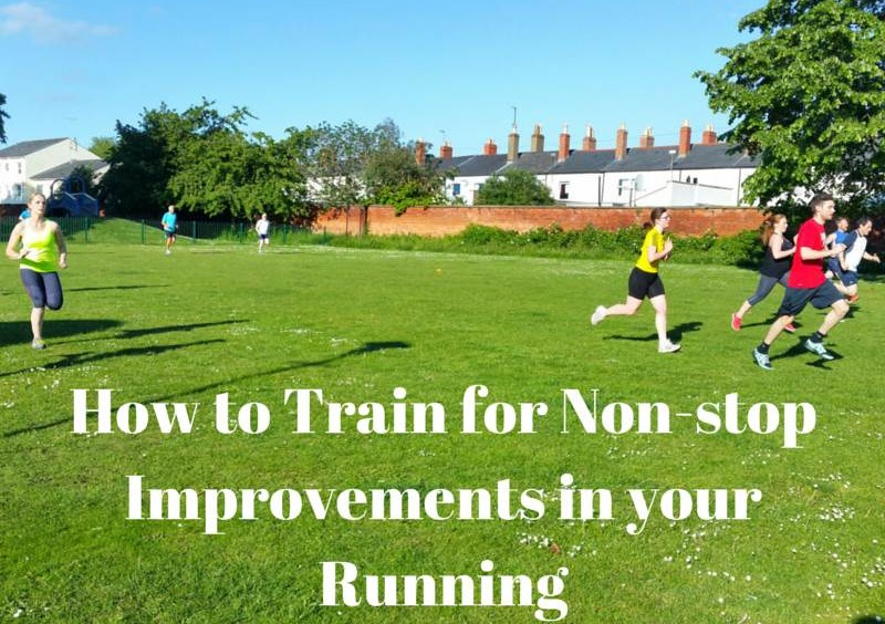 How to Train for Non-stop Improvements in your Running