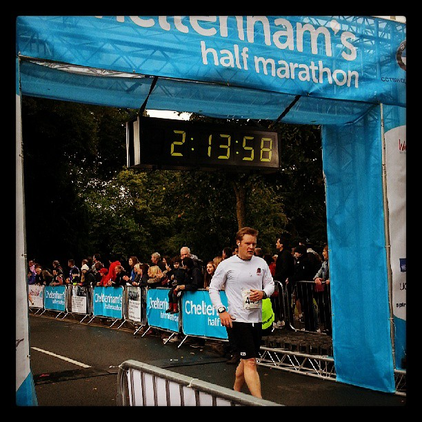 Tim R Finishing Chelt Half 2013
