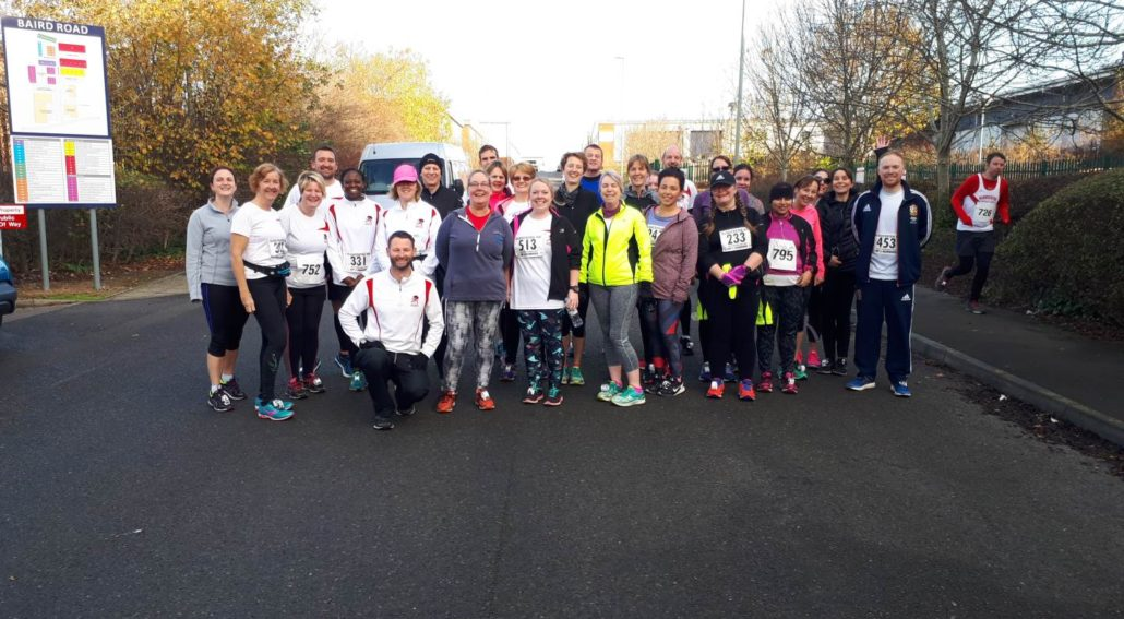 Cheltenham Running Club at the Gloucester 10k