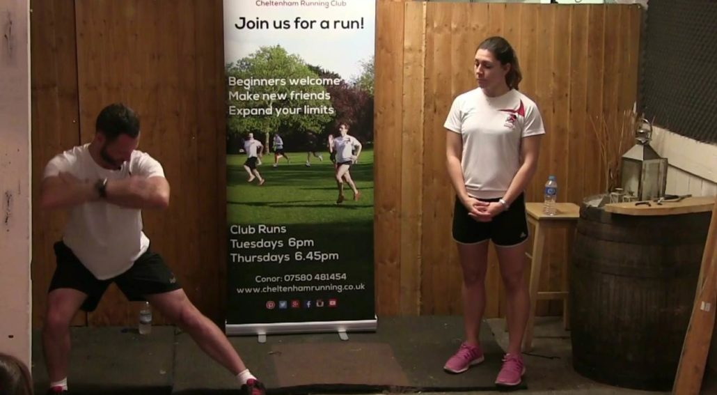Lateral Lunges for Running